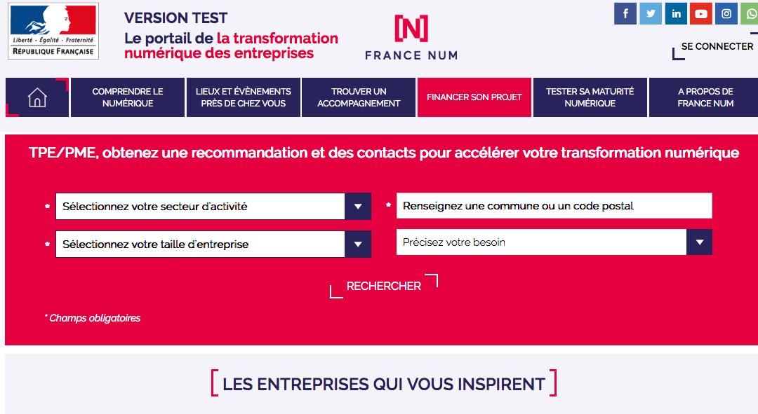 La plateforme France Num au service de la transition digitale