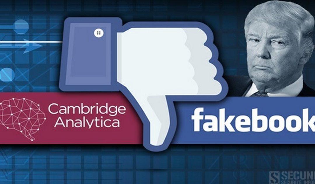 Protection de données : amende record pour Facebook